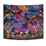 Mickey Love Minnie Tapestry