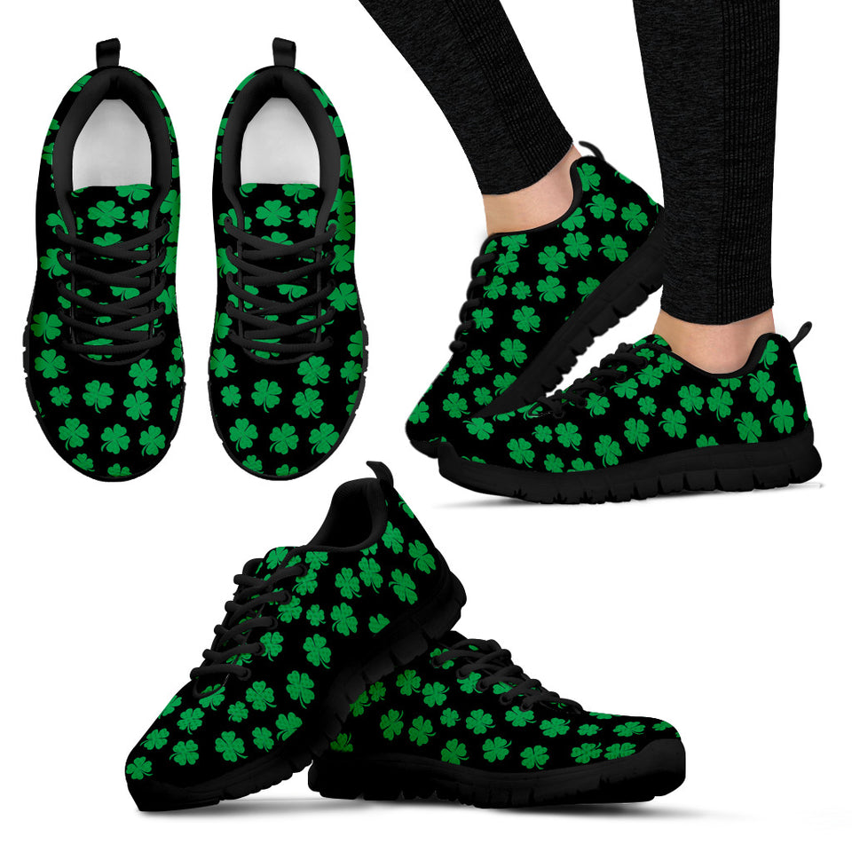 Green 4 Leaf Clover Sneakers
