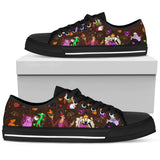 [Express Line Product+ 12$] Villain Disney Halloween Men's Low Top Shoe (Black)