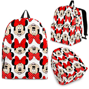 Minnie All Over Backpack