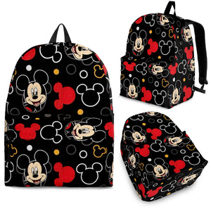 Mickey Black Red BAckpack