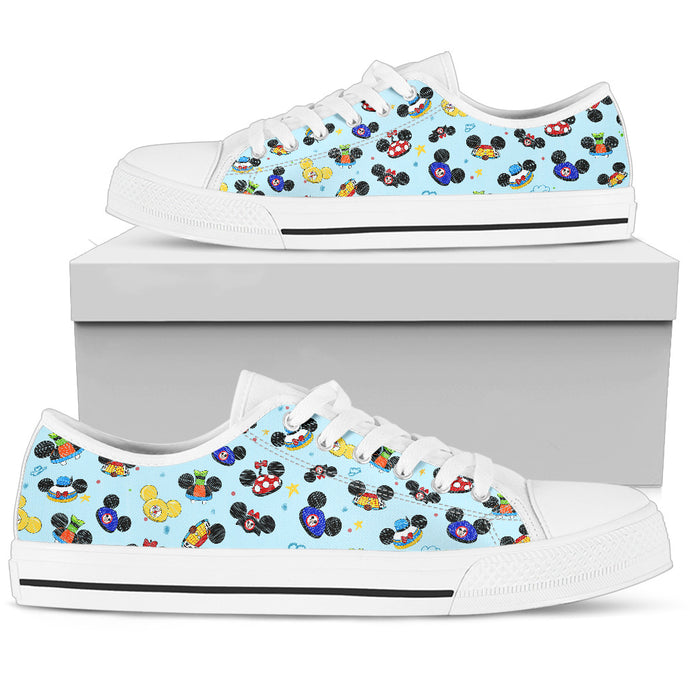 All Hats Women's Low Top in White