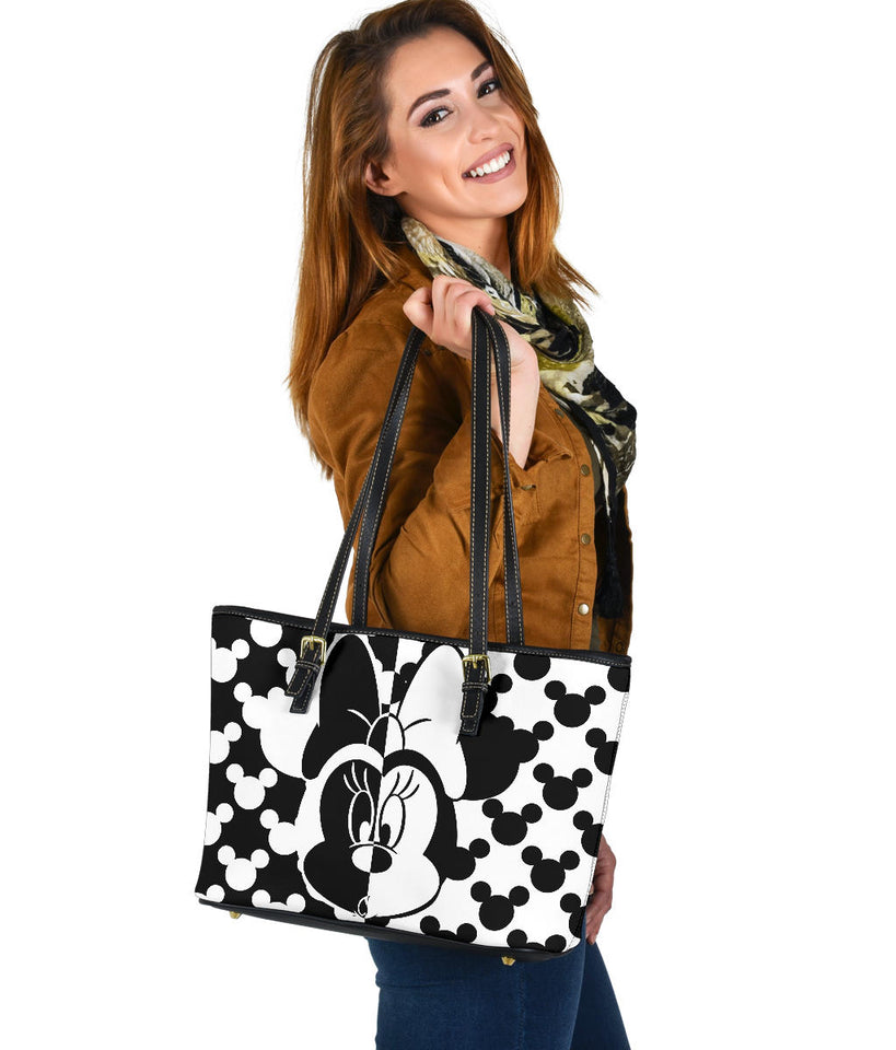 Minnie Black White tote bag [EXPRESS SHIPPING APPLIED]