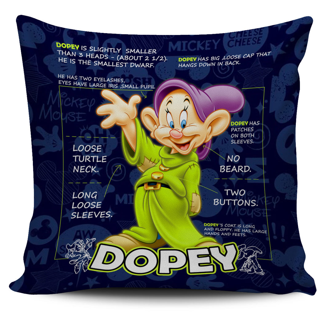 Dopey - Pillow Covers