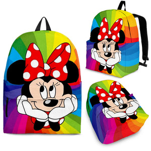 Minnie Rainbow - Backpack