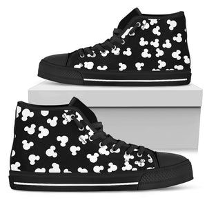 Shape High Top Canvas Shoe