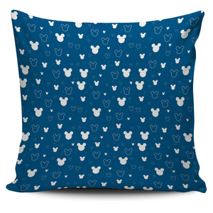 Mickey Blue Pillow Covers