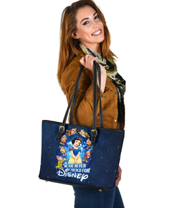 Snow white tote bag [EXPRESS SHIPPING APPLIED]
