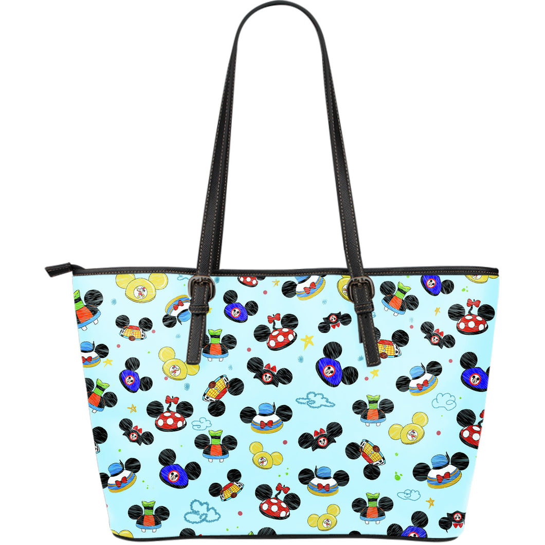 Disney Character - Large Leather Totes