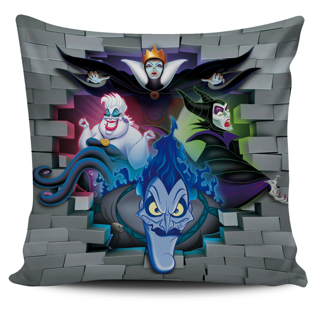 Disney Villains - Pillow Cover
