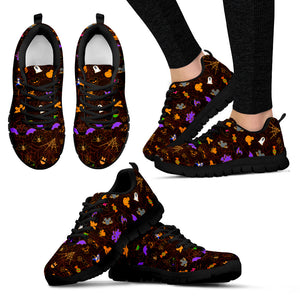 [Express Line Product+ 12$] Halloween Mickey Women's Sneakers (Black)