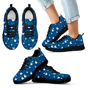 Mickey Blue Woman's Sneakers