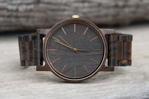 ENGRAVED WOODEN WATCH FOR YOUR DAUGHTER