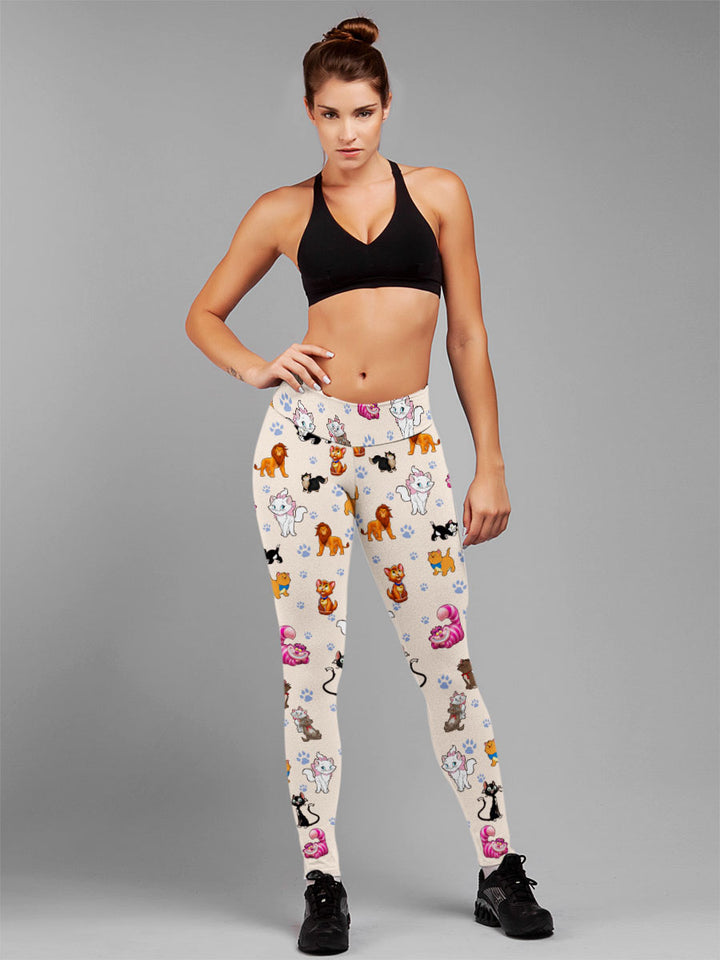 Cats All Over Leggings