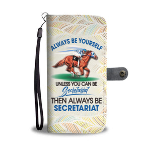 Secretariat Wallet Case