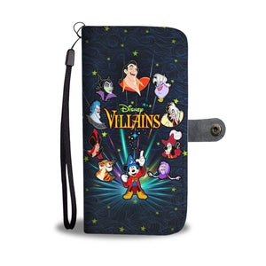 Disney Villain Wallet Case