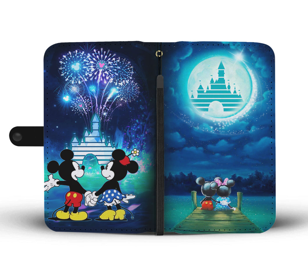 Mickey and Minnie Wallet Case