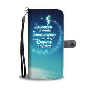 Laughter is Timeless DN Wallet Case