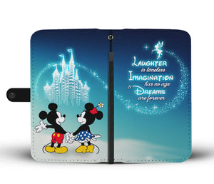 Laughter is Timeless Disney Wallet Case