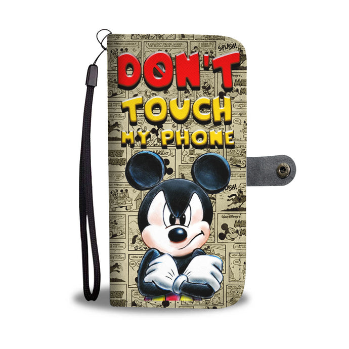 LT - Don't Touch My Phone Wallet Case