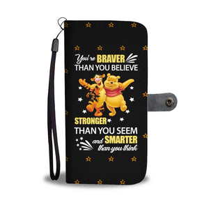 You're Brave Wallet Case