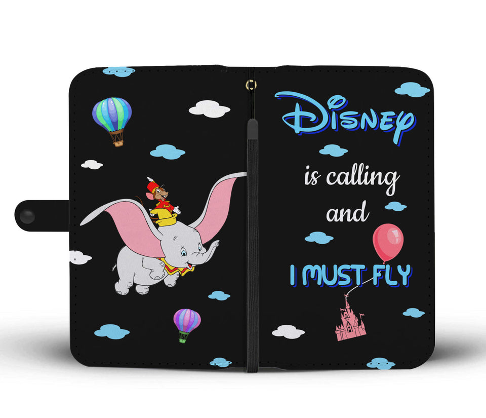 I Must Fly Wallet Case -- LT
