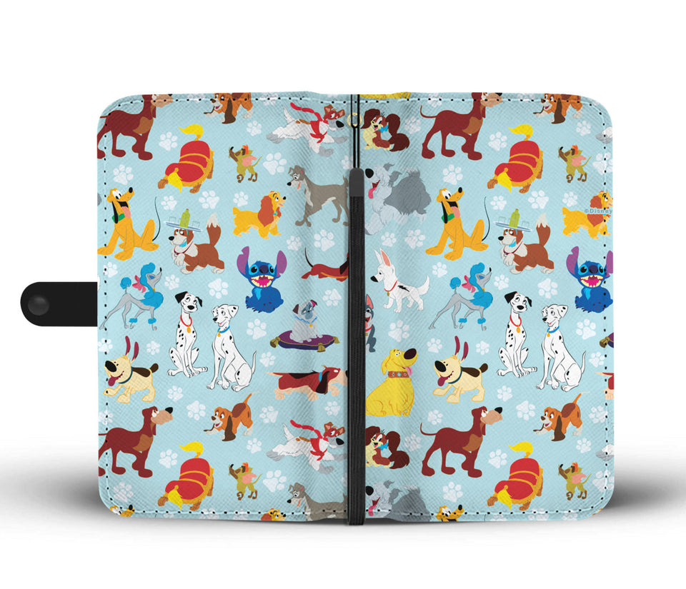 Dogs Wallet Case 2