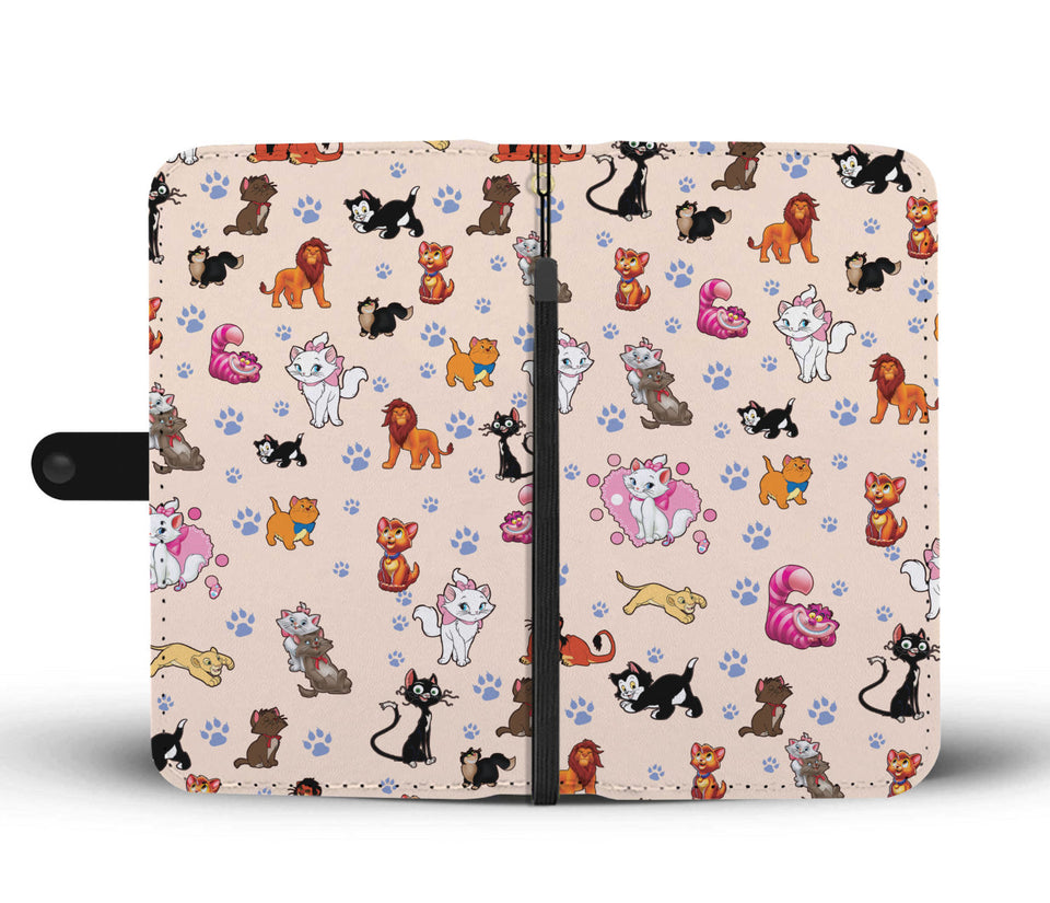Awesome Cats Wallet Case