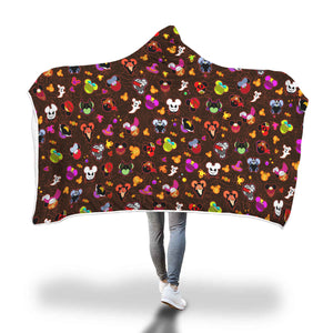 [Express Line Product+ 12$] Halloween Villain Hooded Blanket