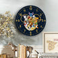 DN Dogs Wooden Clock