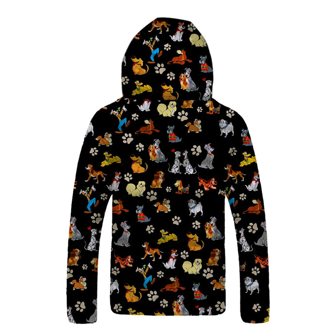 Disney Dogs Down Jackets Coat