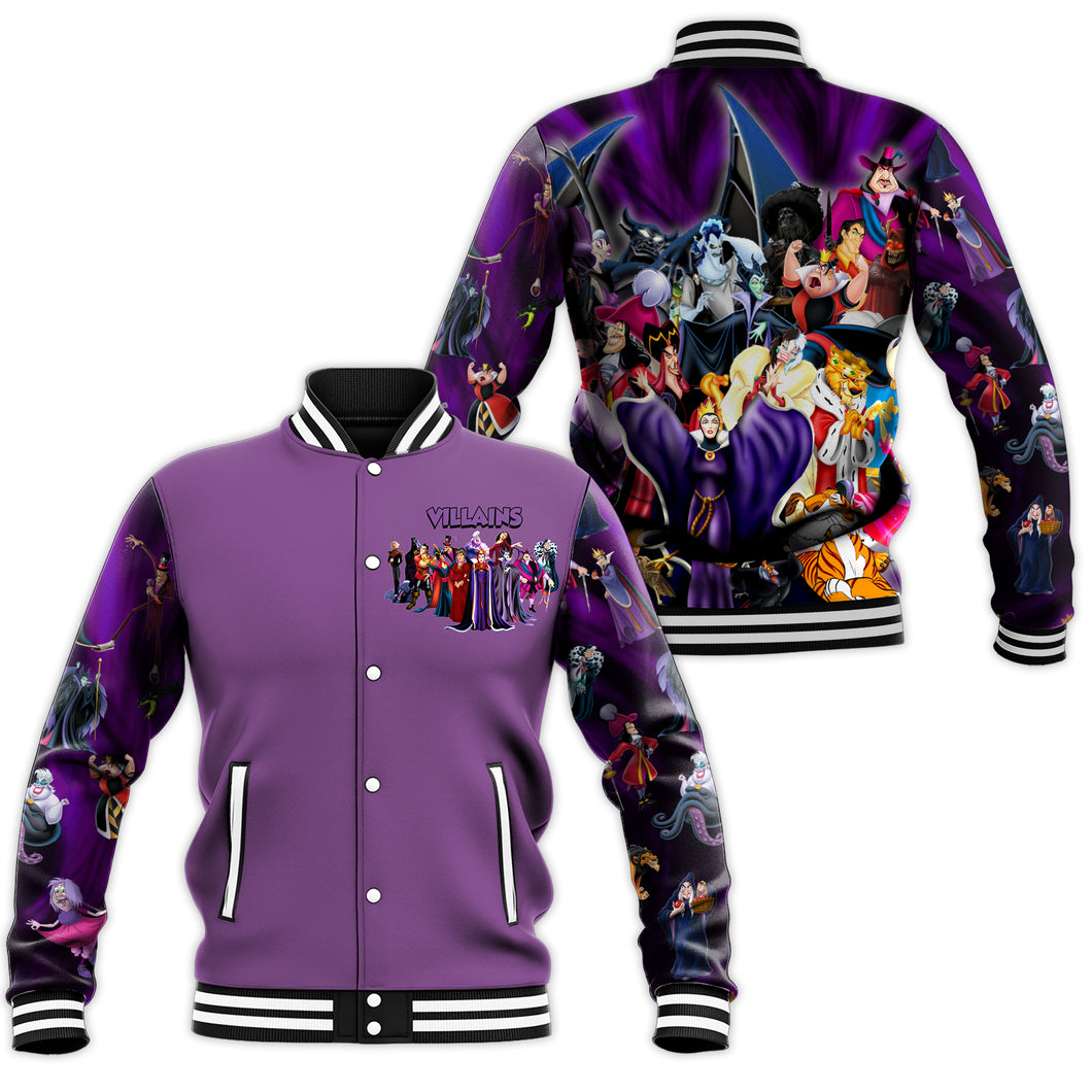 Villains Baseball Jacket