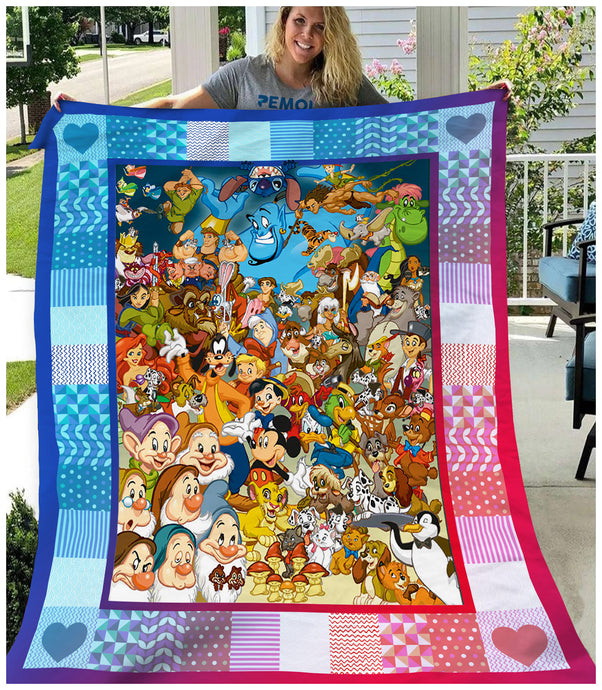 DN Characters Blanket