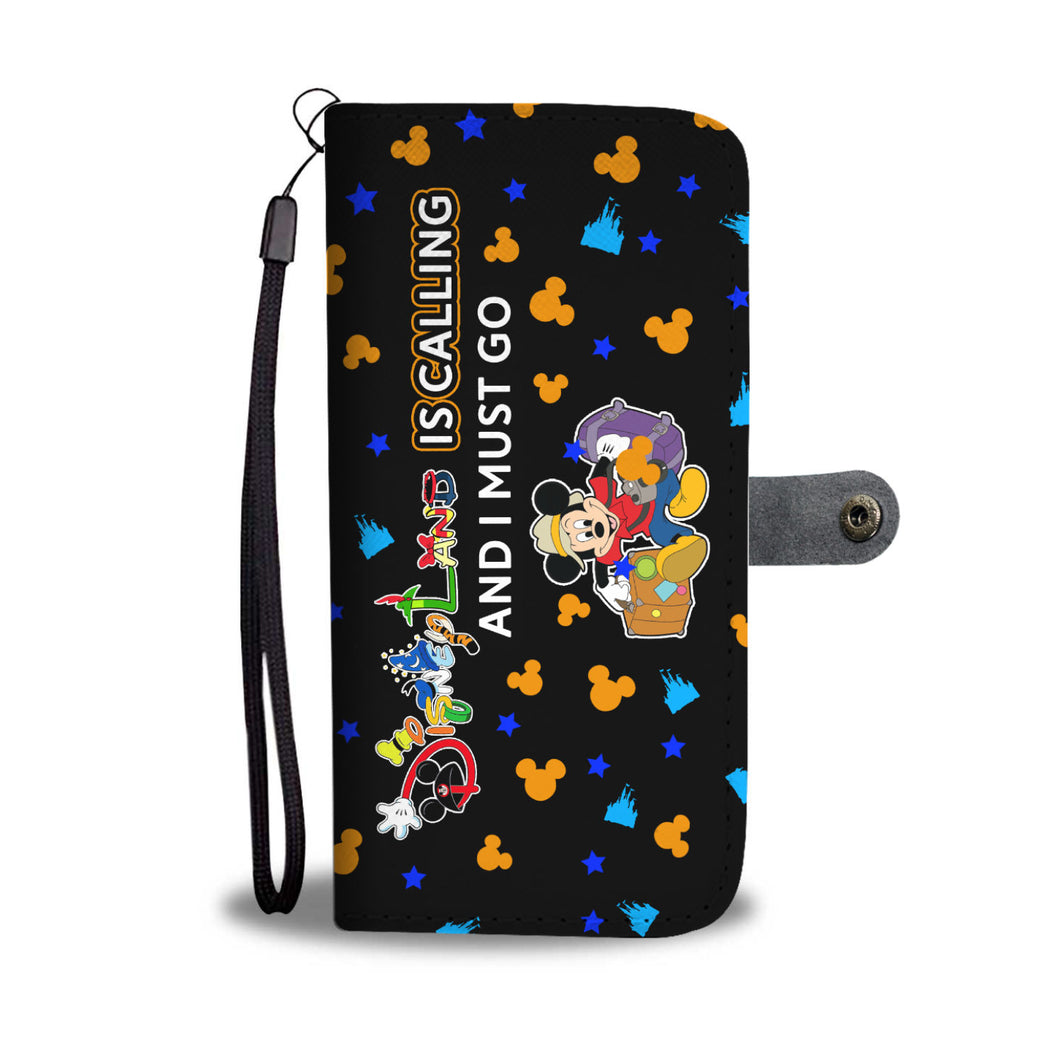 Disneyland Wallet Case