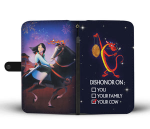 Mulan Wallet Case