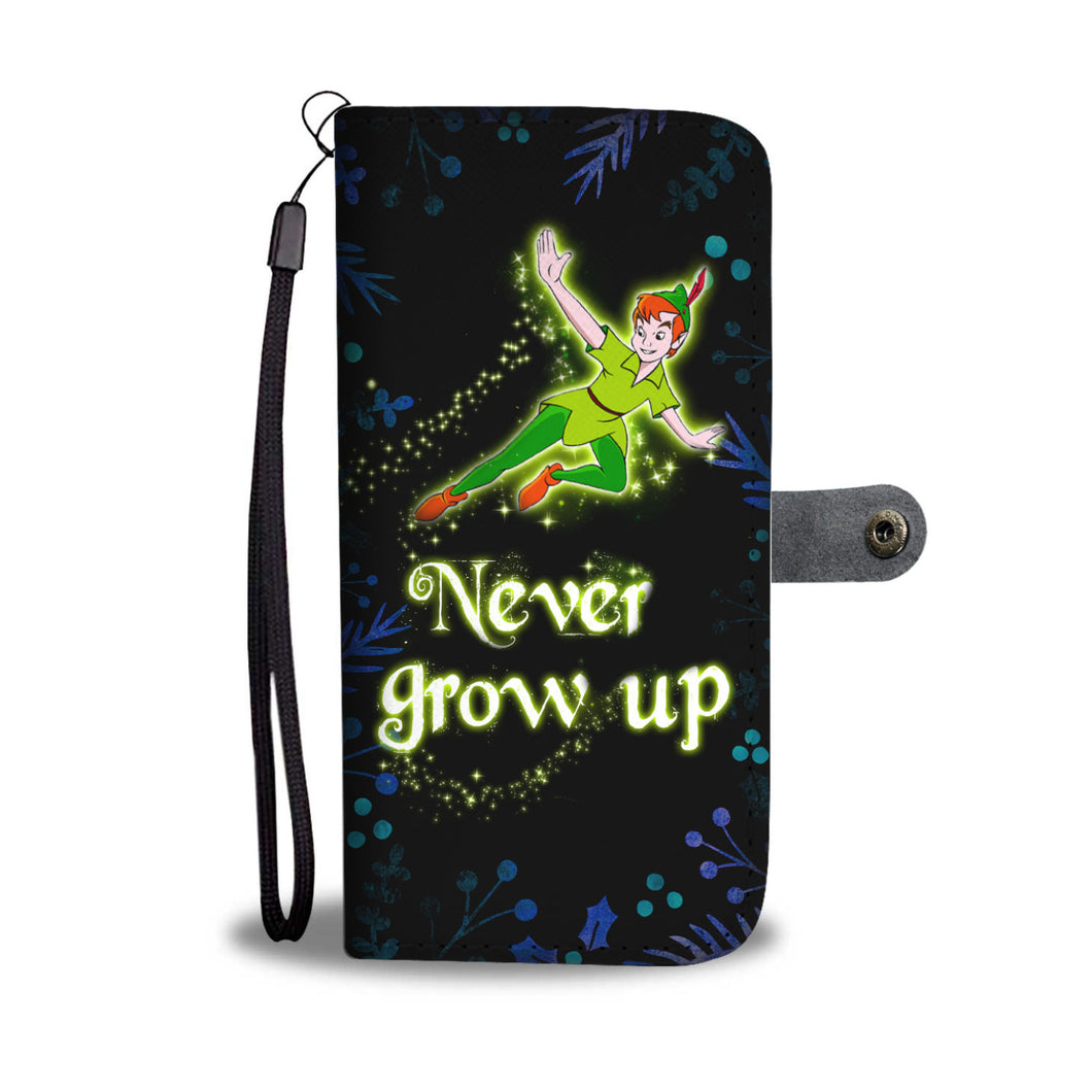L.C Never Grow Up Wallet Case