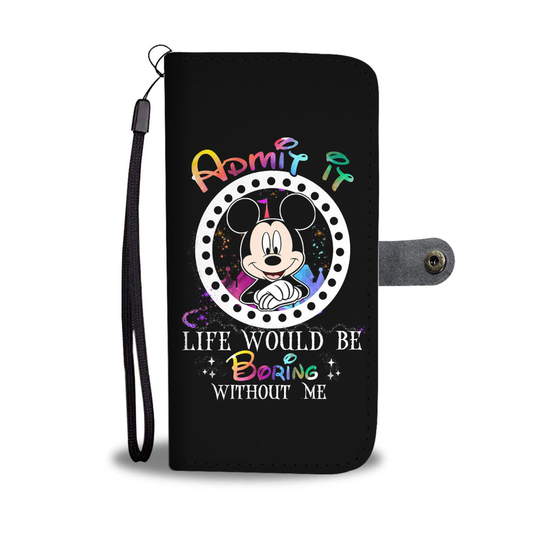 L.C Mickey Wallet Case