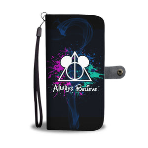 L.C ALWAYS BELIEVE WALLET CASE