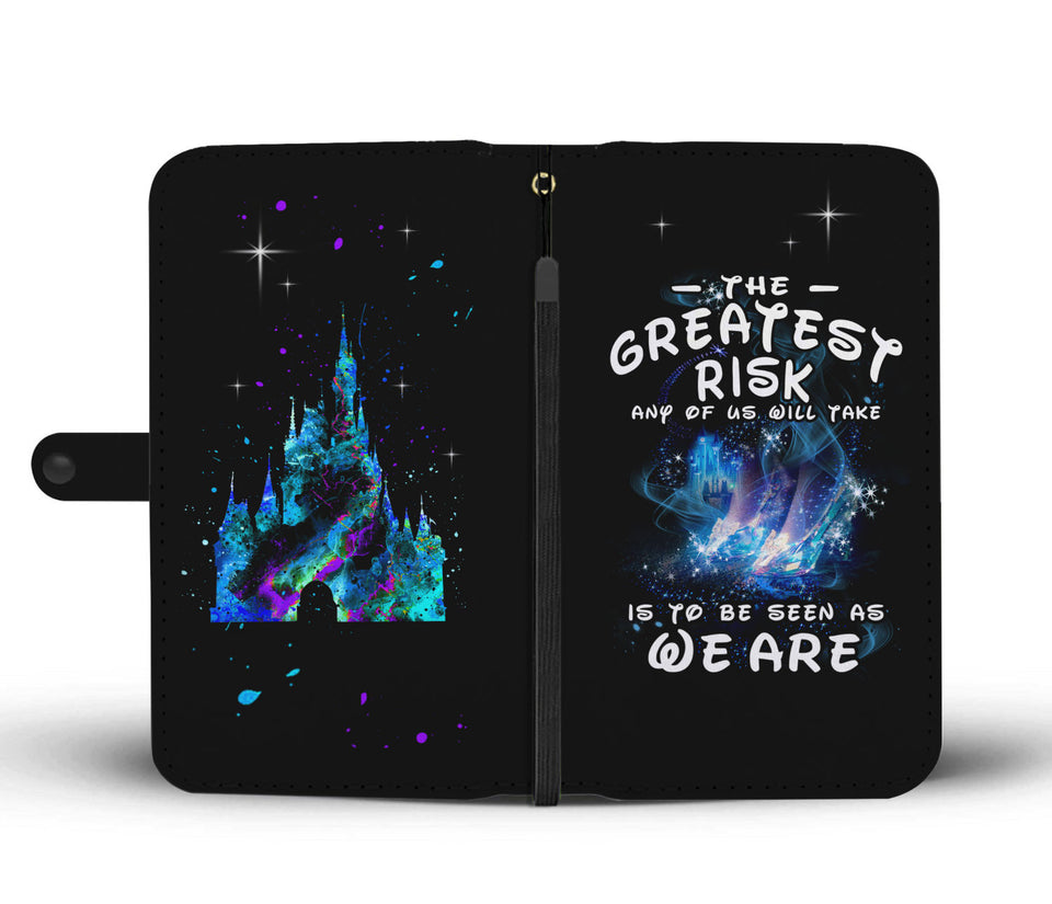 L.C THE GREATEST RISK WALLET CASE