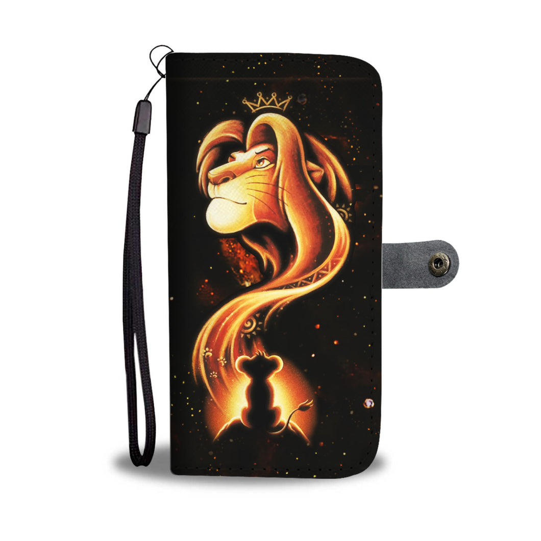 LION KING WALLET CASE