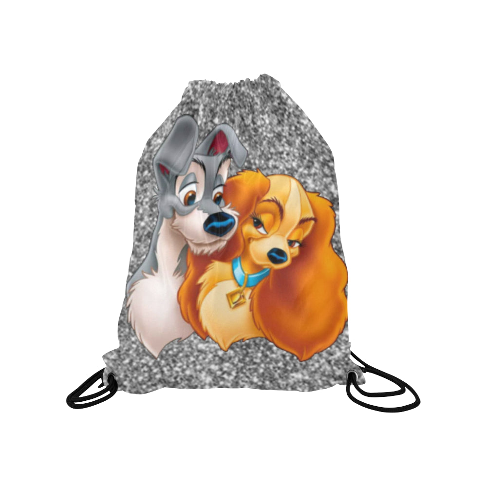Lady & The Tramp Medium Drawstring