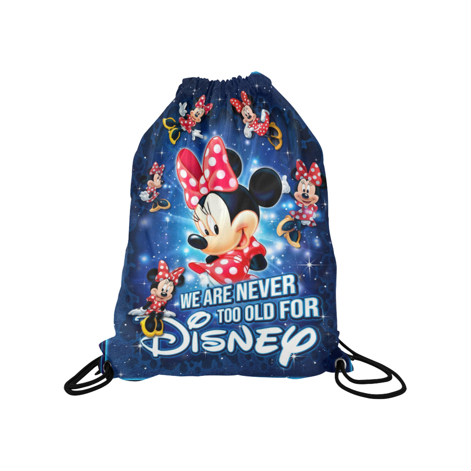 Minnie Disney Medium Drawstring Bag