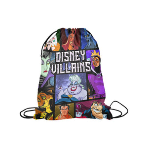 Disney Villains Medium Drawstring Bag