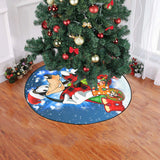 Goofy Hohoho Xmas Tree Skirt