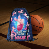 Piglet Disney Medium Drawstring Bag
