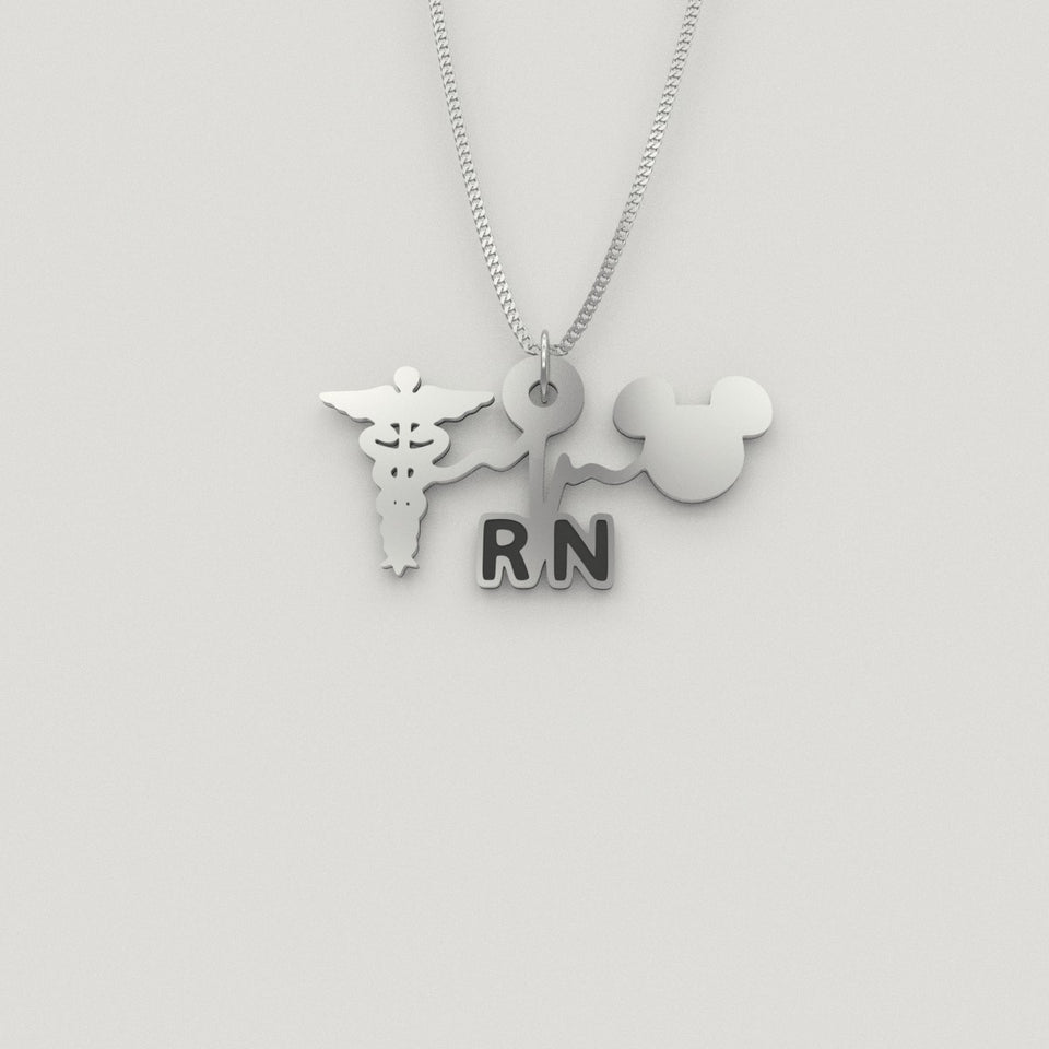 RN Caduceus Mickey [Corona Update: Shipping to Canada & Australia is unavailable at the moment]