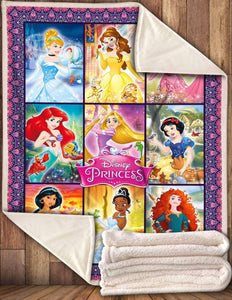 DN Princesses Blanket