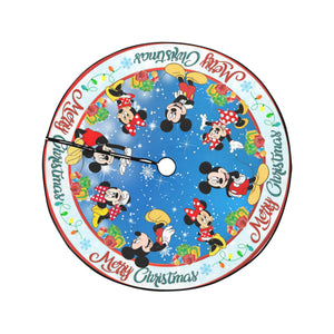 Mickey & Minnie Christmas Tree Skirt