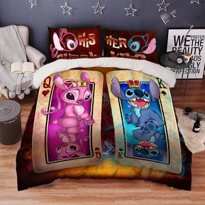 STITCH BEDDING SET