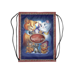 Aristo-Cat Medium Drawstring Bag